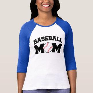 Baseball Mom Funny and Cute Tee Shirt
