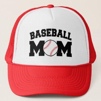 Baseball Mom funny Hat