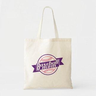 Baseball Mom Grocery Bag