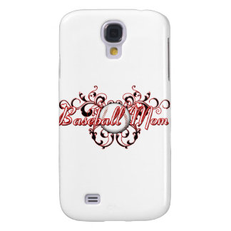 Baseball Mom (heart) copy.png Galaxy S4 Cover