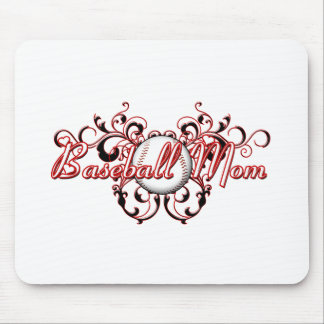 Baseball Mom (heart) copy.png Mouse Pad