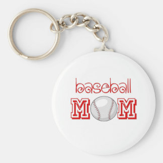 Baseball Mom Key Chain