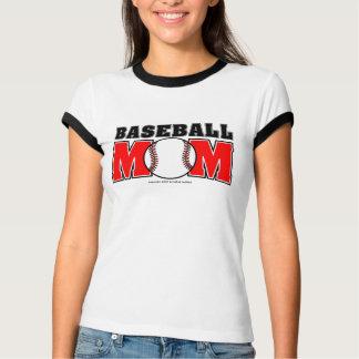 Baseball Mom Ladies Ringer T-Shirt