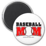 Baseball Mom Magnet