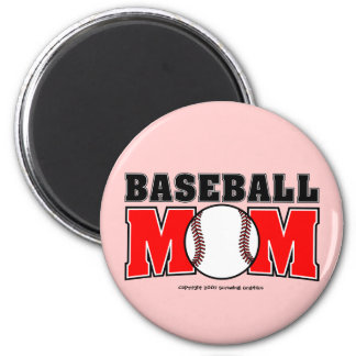 Baseball Mom Magnet