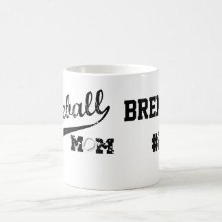 Baseball Mom Personalized Mug