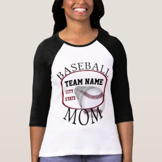 Baseball Mom Raglan T-shirt