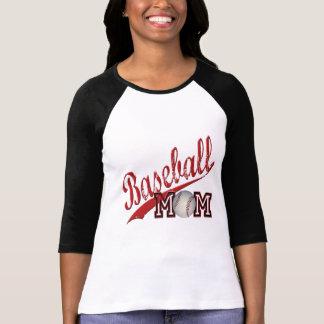 Baseball Mom Red T-Shirt