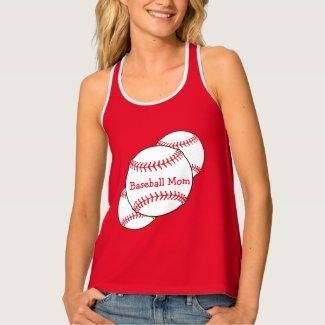 Baseball Mom Sporty Tank Top