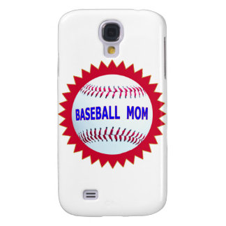 Baseball Mom T-Shirts and Unique Gift Products Galaxy S4 Cover