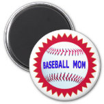 Baseball Mom T-Shirts and Unique Gift Products Fridge Magnets
