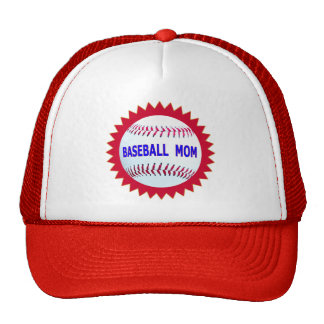 Baseball Mom T-Shirts and Unique Gift Products Trucker Hat