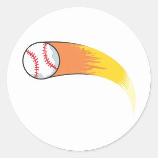 Baseball Mom T-shirts, Shirts and Custom Baseball Classic Round Sticker