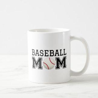 Baseball mom, text design for t-shirt, shirt coffee mug