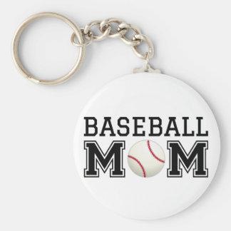 Baseball mom text design for t-shirt shirt key chains