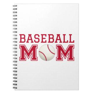 Baseball mom, text design for t-shirt, shirt notebook