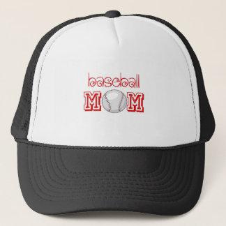 Baseball Mom Trucker Hat