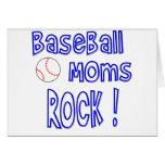 Baseball Moms Rock ! (blue) Cards