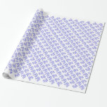 Baseball Moms Rock ! (blue) Wrapping Paper