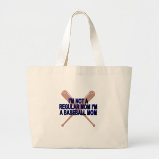 Baseball Moms T Shirts '.png Large Tote Bag
