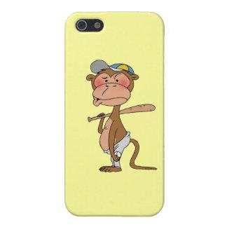 Baseball monkey case for iPhone SE/5/5s