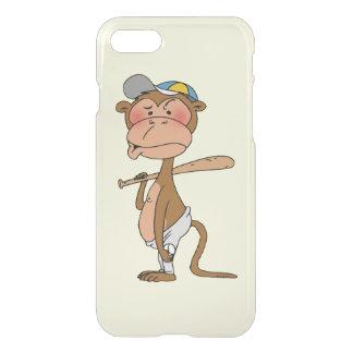 baseball monkey player iPhone 7 case