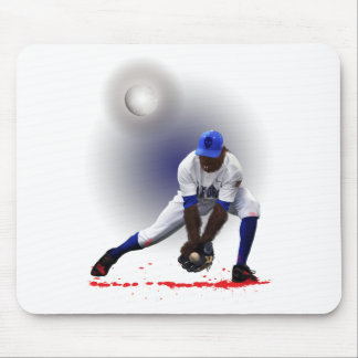 Baseball Monster Wolf Animal Mouse Pad