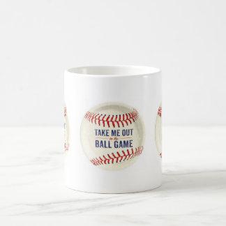 Baseball Mug ( TAKE ME OUT TO THE BALLPARK )