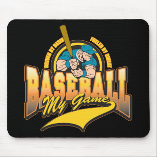 Baseball My Game Mouse Pad