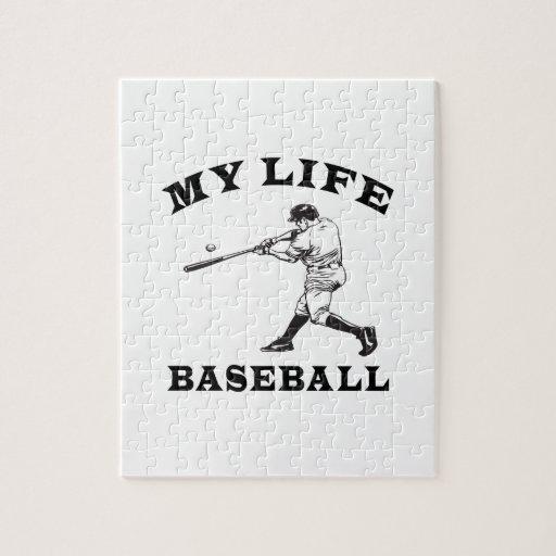 Baseball My Life Puzzle