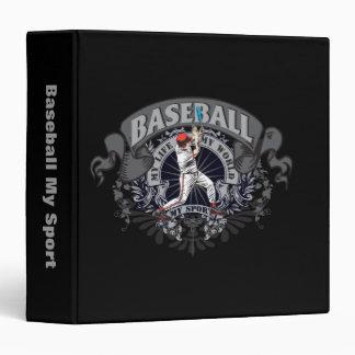 Baseball My Sport 3 Ring Binder