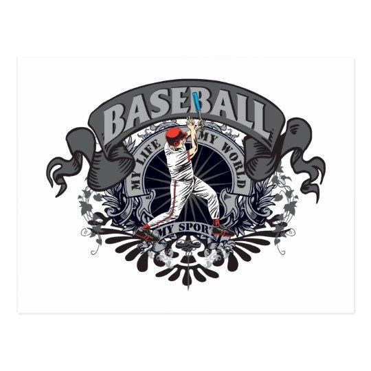 Baseball My Sport Postcard