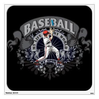 Baseball My Sport Wall Decal