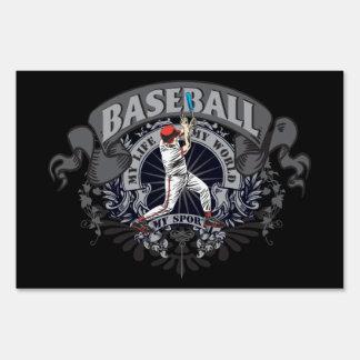 Baseball My Sport Lawn Sign