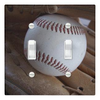 Baseball n Glove Light Switch Cover