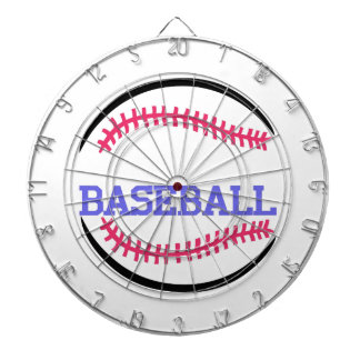 Baseball Name Drop Dartboard