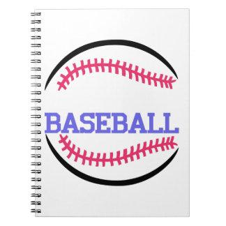 Baseball Name Drop Notebook