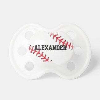 Baseball Name Pacifier