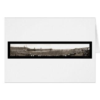 Baseball New York vs. Pittsburgh Photo 1905 Card