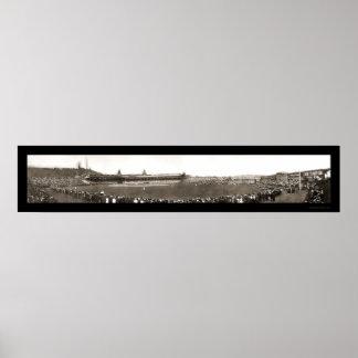 Baseball New York vs. Pittsburgh Photo 1905 Poster