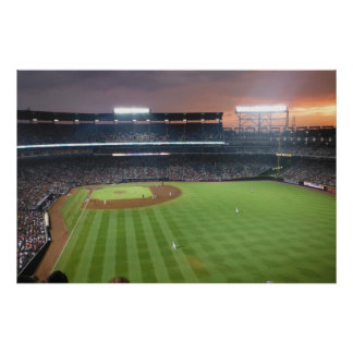 Baseball Night Poster