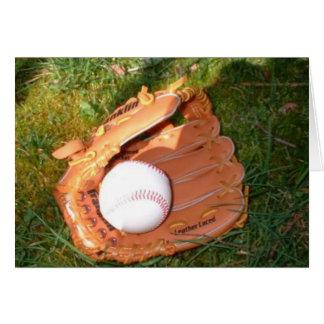 Baseball Notecard