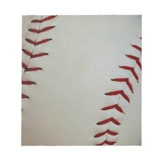 Baseball Notepad