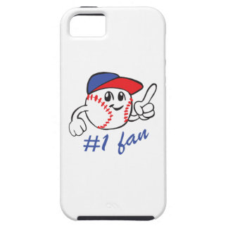 BASEBALL NUMBER ONE FAN iPhone 5 COVERS