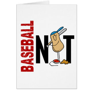 Baseball Nut 1 Greeting Card