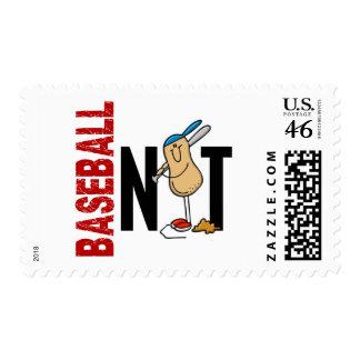 Baseball Nut 1 Postage Stamp