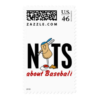 Baseball Nut 2 Stamp