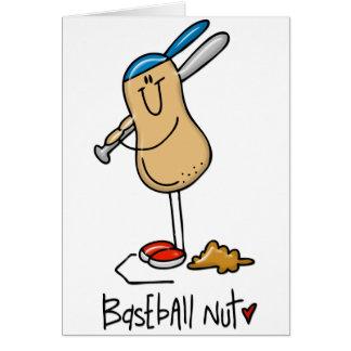 Baseball Nut 3 Greeting Card