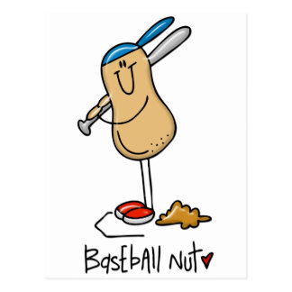 Baseball Nut 3 Postcard