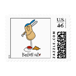 Baseball Nut T-shirts and Gifts Postage